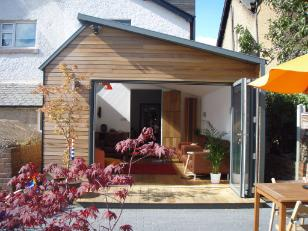 Cedar Clad Extension, Garden Room Extension, home extension, house extension, house extension yorkshire, extend my home yorkshire, single storey extension, contemporary extension.